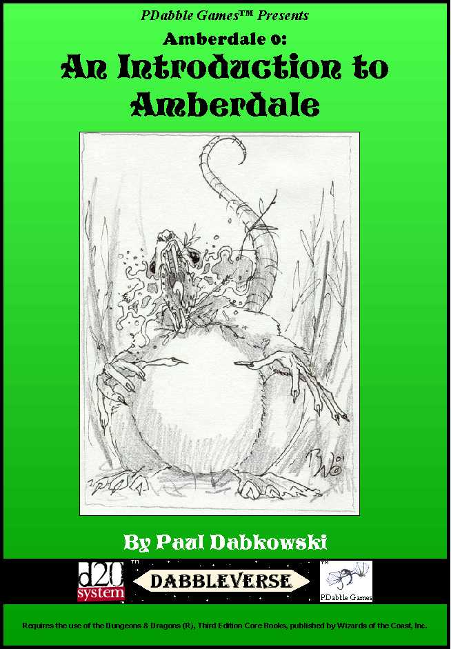 Amberdale 0 Cover